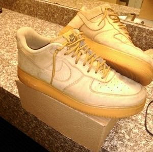 Air Force 1s (brown swad)